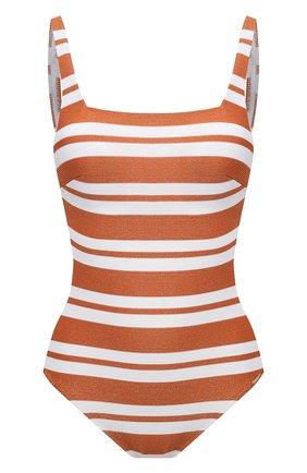 Женский слитный купальник MARYAN MEHLHORN оранжевого цвета, арт. 4070 | Фото 1