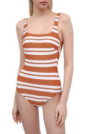 Женский слитный купальник MARYAN MEHLHORN оранжевого цвета, арт. 4070 | Фото 2