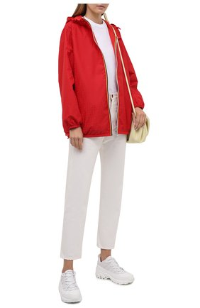 Женская куртка FENDI красного цвета, арт. FAN019 AERR   Фото 2
