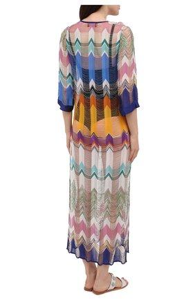 Женская туника из вискозы MISSONI разноцветного цвета, арт. MMQ00025/BR00E5   Фото 4