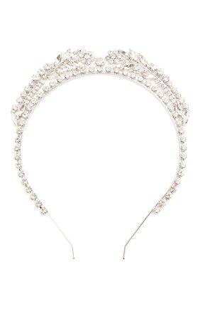 Женский ободок для волос ALESSANDRA RICH серебряного цвета, арт. FABA2305 | Фото 1