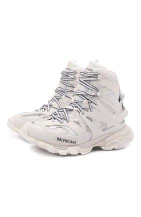 Женские комбинированные кроссовки track hike BALENCIAGA белого цвета, арт. 654866/W3CP3 | Фото 1