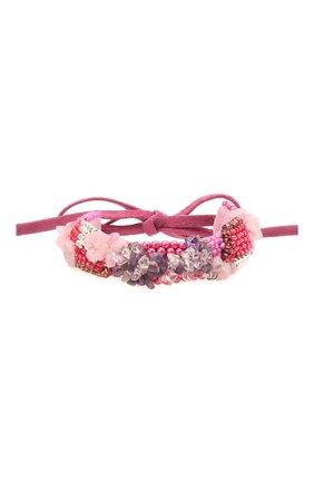 Женский браслет ISABEL MARANT розового цвета, арт. BR0802-21E015B | Фото 1