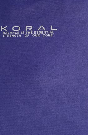 Женский топ KORAL фиолетового цвета, арт. A6479S06 | Фото 5 (Женское Кросс-КТ: Топ-спорт; Рукава: Длинные; Материал внешний: Синтетический материал; Стили: Спорт-шик; Длина (для топов): Укороченные; Кросс-КТ: с рукавом)