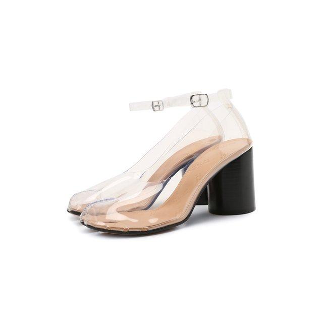 Комбинированные туфли Maison Margiela