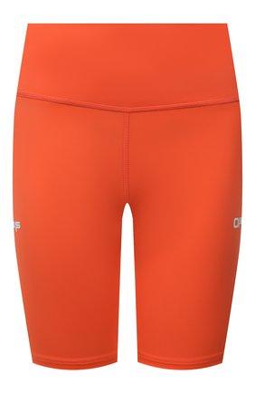 Женские шорты OFF-WHITE оранжевого цвета, арт. 0WVH009V21JER001 | Фото 1