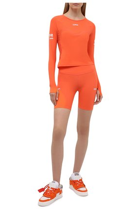 Женский топ OFF-WHITE оранжевого цвета, арт. 0WVB015V21JER001 | Фото 2