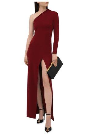 Женское платье SOLACE бордового цвета, арт. 0S21068 | Фото 2