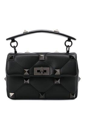 Женская сумка roman stud VALENTINO черного цвета, арт. WW2B0I82/LWB | Фото 1