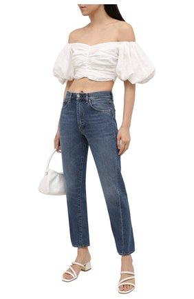 Женские кожаные мюли lana MICHAEL MICHAEL KORS белого цвета, арт. 40S1LAMP1L | Фото 2
