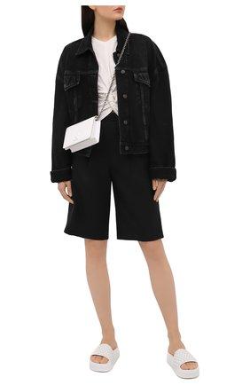 Женские кожаные шлепанцы fun donna CHRISTIAN LOUBOUTIN белого цвета, арт. 3190690/P00L FUN D0NNA FLAT | Фото 2
