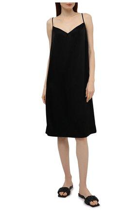 Женская сорочка ESCADA черного цвета, арт. 5025738 | Фото 2