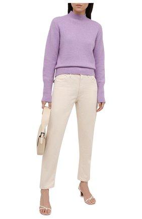 Женский свитер из кашемира и шелка ESCADA сиреневого цвета, арт. 5034831 | Фото 2