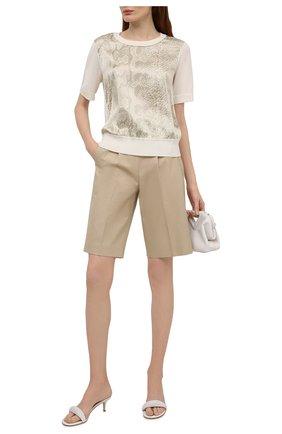 Женский шерстяной пуловер ESCADA кремвого цвета, арт. 5034833 | Фото 2