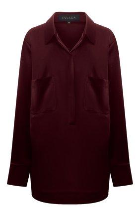 Женская блузка ESCADA бордового цвета, арт. 5035624 | Фото 1