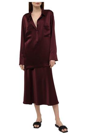 Женская блузка ESCADA бордового цвета, арт. 5035624 | Фото 2