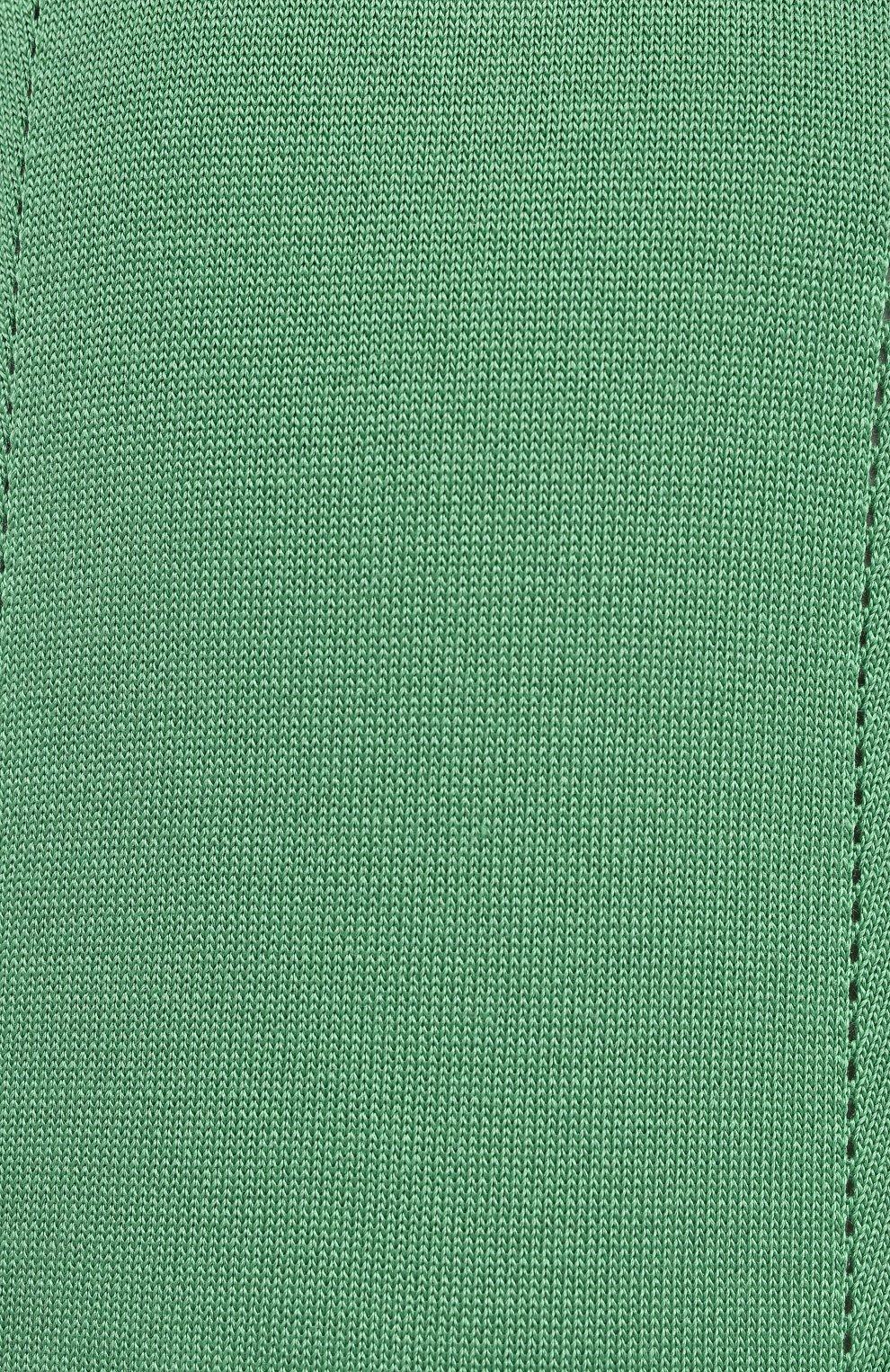 Женское шелковое платье RALPH LAUREN светло-зеленого цвета, арт. 290840679   Фото 5