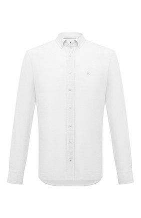 Мужская льняная рубашка BOGNER белого цвета, арт. 58712973   Фото 1