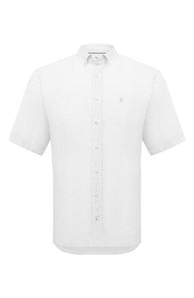 Мужская льняная рубашка BOGNER белого цвета, арт. 58852973   Фото 1