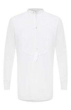 Мужская хлопковая рубашка MAISON MARGIELA белого цвета, арт. S30DL0487/S43001 | Фото 1