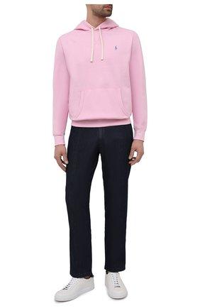 Мужской худи POLO RALPH LAUREN розового цвета, арт. 710766778 | Фото 2