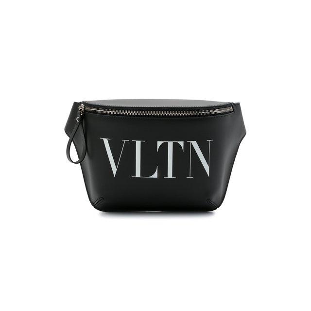 Кожаная поясная сумка Valentino