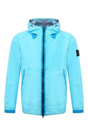 Мужская куртка STONE ISLAND бирюзового цвета, арт. 741540523 | Фото 1