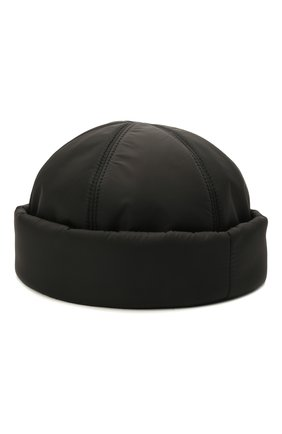Мужская шапка PRADA черного цвета, арт. 2HC168-IYK-F0002   Фото 2