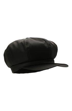 Мужская кепка PRADA черного цвета, арт. 2HC551-2DMI-F0002 | Фото 1