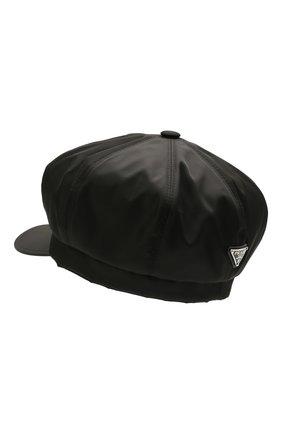 Мужская кепка PRADA черного цвета, арт. 2HC551-2DMI-F0002   Фото 2
