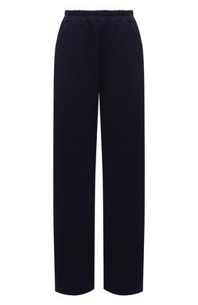Женские хлопковые брюки MASTERPEACE темно-синего цвета, арт. MP-R21-18 (tr)   Фото 1