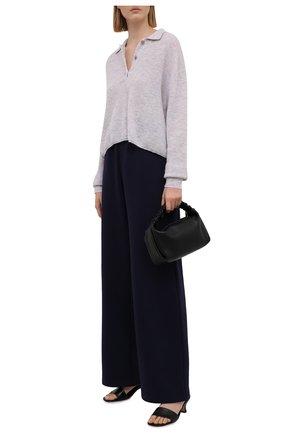 Женские хлопковые брюки MASTERPEACE темно-синего цвета, арт. MP-R21-18 (tr)   Фото 2