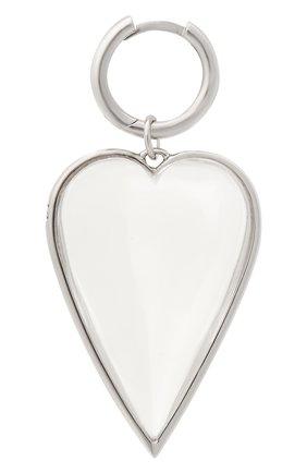 Женская подвеска хрустальное сердце AVGVST BY NATALIA BRYANTSEVA серебряного цвета, арт. 1005825.1-01   Фото 1