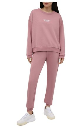 Женский хлопковый костюм SEVEN LAB розового цвета, арт. SWP20-D misty rose   Фото 1