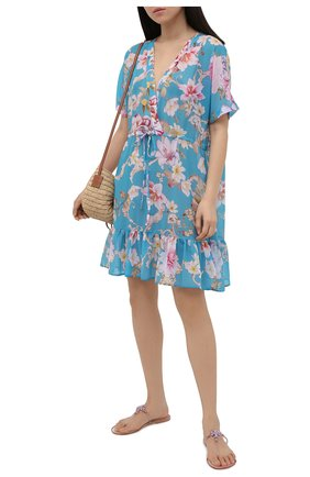 Женское платье GOTTEX бирюзового цвета, арт. 21HI694   Фото 2