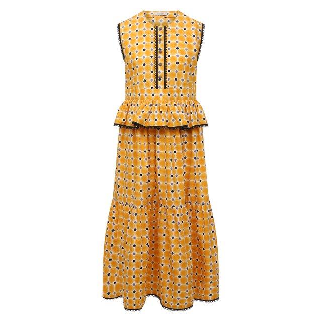 Хлопковое платье Loom by Rodina