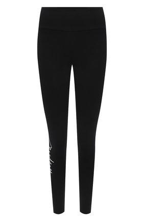 Женские леггинсы WOLFORD черного цвета, арт. 19314   Фото 1