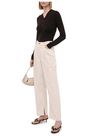 Женские джинсы ganni x levi's GANNI бежевого цвета, арт. F6095 | Фото 2