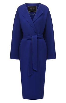 Женское кашемировое пальто KITON темно-синего цвета, арт. D51607DK05I38   Фото 1