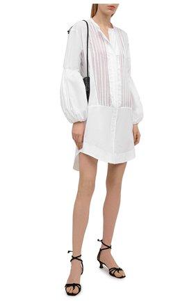 Женское хлопковое платье LILA EUGENIE белого цвета, арт. 2111 MINI | Фото 2