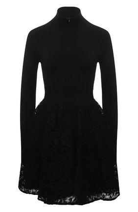 Женское платье VALENTINO черного цвета, арт. WB3KDB016HV | Фото 1
