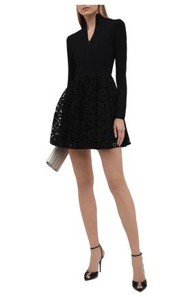 Женское платье VALENTINO черного цвета, арт. WB3KDB016HV | Фото 2
