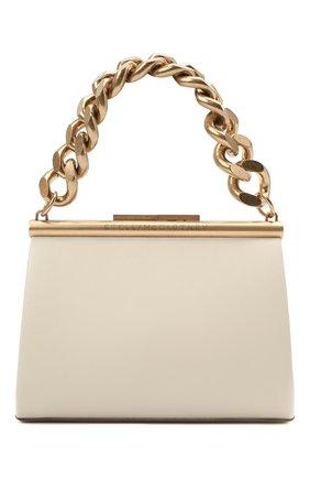 Женская сумка chunky chain small STELLA MCCARTNEY кремвого цвета, арт. 700211/W8779 | Фото 1