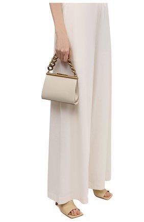 Женская сумка chunky chain small STELLA MCCARTNEY кремвого цвета, арт. 700211/W8779 | Фото 2