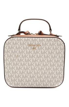 Женская сумка jet set charm MICHAEL MICHAEL KORS кремвого цвета, арт. 32T0GT9C8B | Фото 1