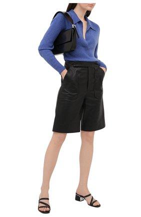 Женские кожаные мюли lana MICHAEL MICHAEL KORS черного цвета, арт. 40S1LAMP1L | Фото 2