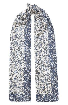 Женский шелковый шарф ESCADA голубого цвета, арт. 5035061   Фото 1