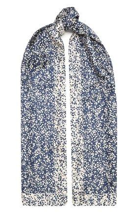 Женский шелковый шарф ESCADA синего цвета, арт. 5035061   Фото 1