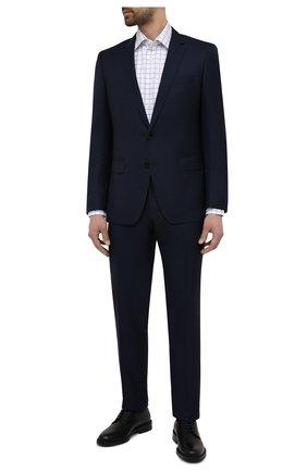 Мужские кожаные дерби HUGO черного цвета, арт. 50455186 | Фото 2
