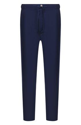 Мужские хлопковые домашние брюки ROBERTO RICETTI синего цвета, арт. PANTAPA PIGIAMA/B2603 | Фото 1